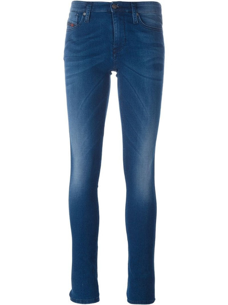 Diesel 'Skinzeene' skinny jeans in blue