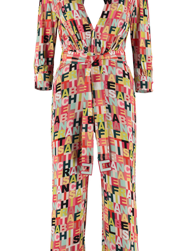 Elisabetta Franchi Celyn B. Elisabetta Franchi Celyn B. Viscose Jumpsuit With Belt