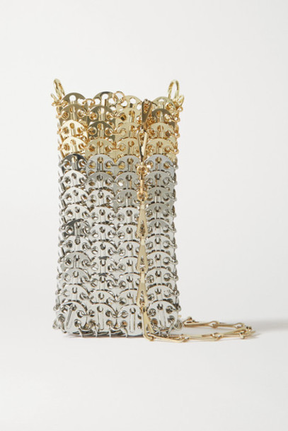 Paco Rabanne - Chainmail Shoulder Bag - Silver