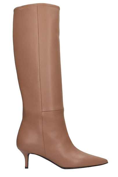 Marc Ellis Boots In Taupe Leather