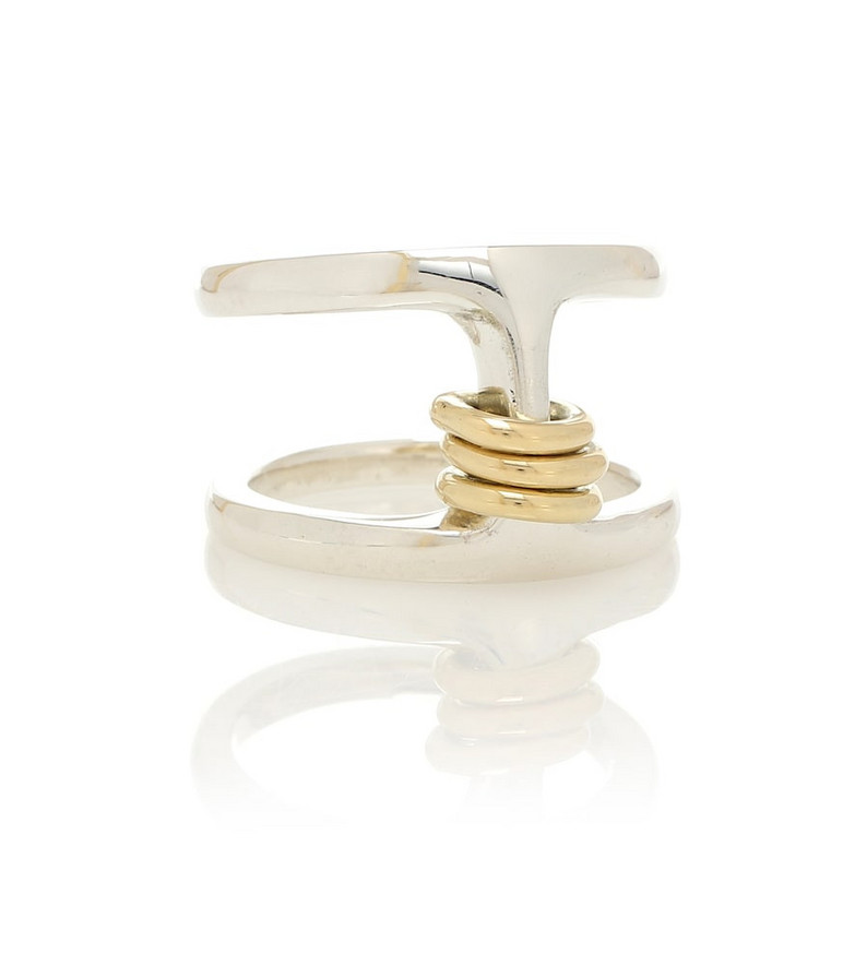 Spinelli Kilcollin Phantom 18kt gold and silver ring