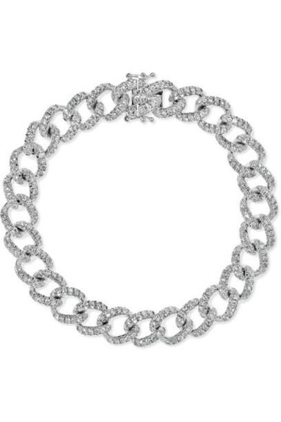 Anita Ko - 18-karat White Gold Diamond Bracelet