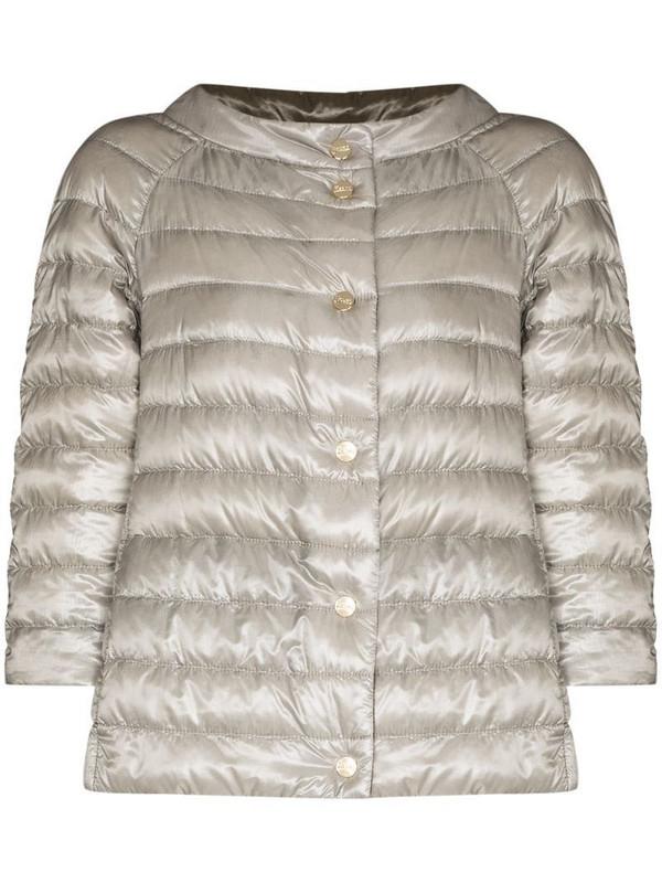 Herno reversible padded jacket in grey