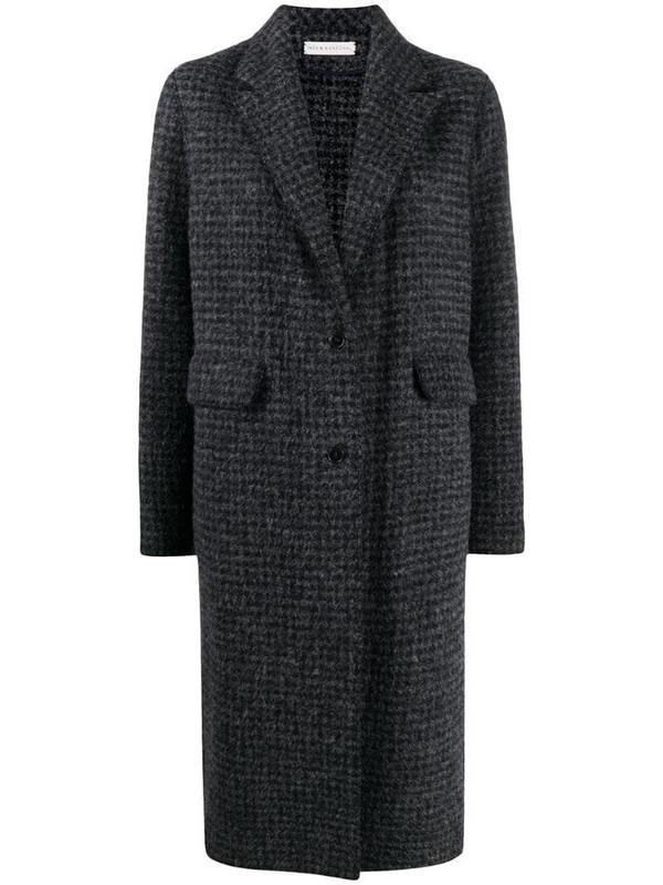 Inès & Maréchal single-breasted coat in grey
