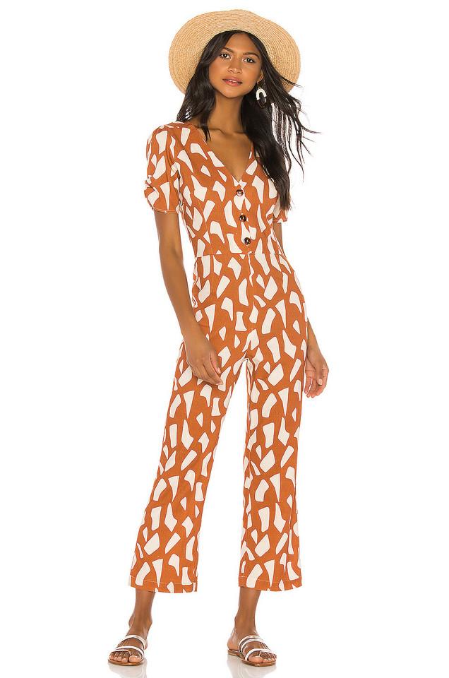 ELLEJAY Jackie Jumpsuit in orange