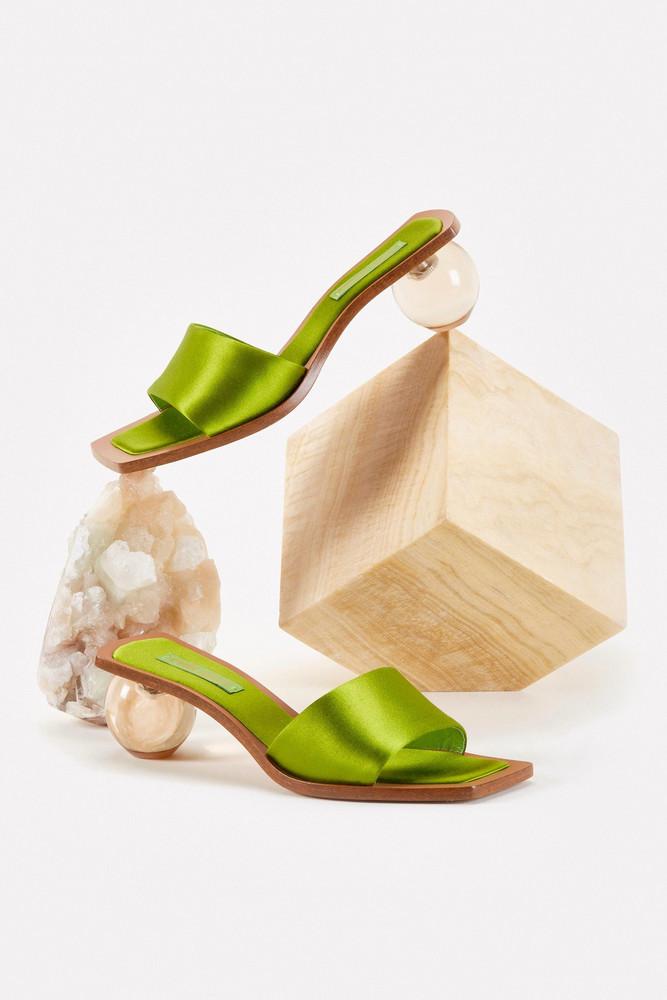 Cult Gaia Tao Sandal - Lime                                                                                               $388.00 USD