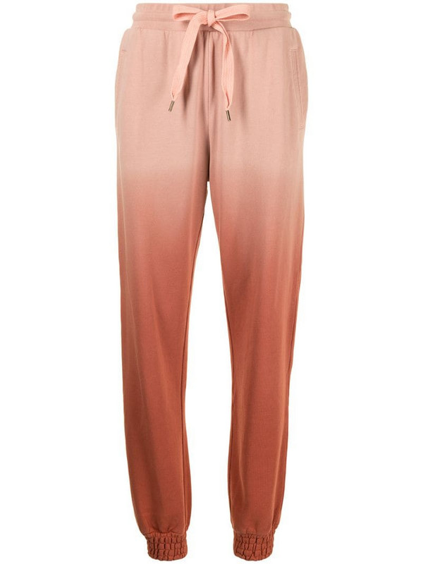 The Upside Alena ombré-print track trousers in pink