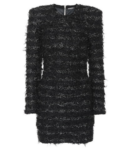 Balmain Knitted minidress in black