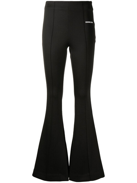 Ground Zero stretch fit bootcut trousers - Black