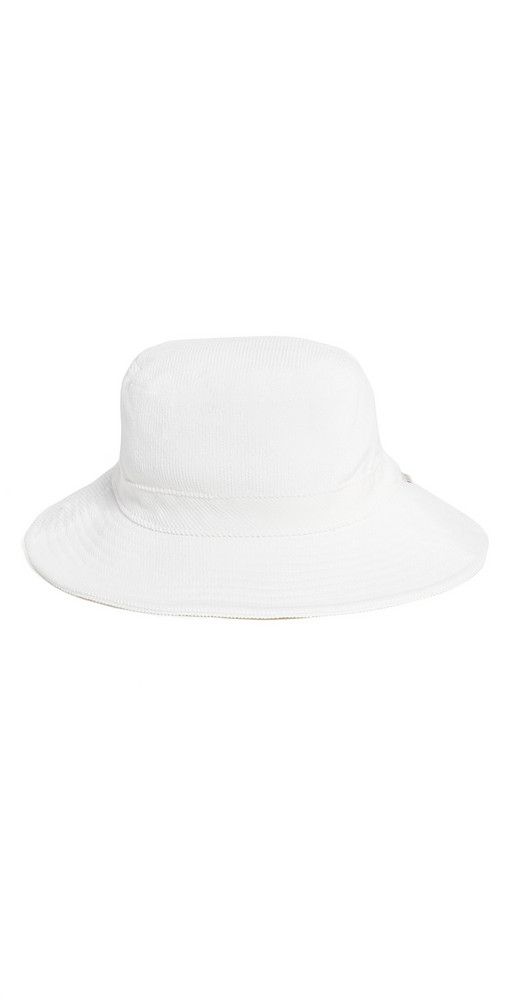 Brixton Petra Packable Bucket Hat in white