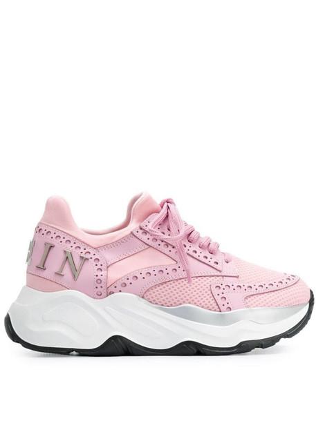 Philipp Plein Runner Gothic sneakers in pink