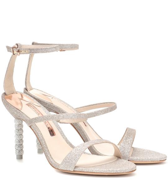 Sophia Webster Rosalind embellished sandals in metallic