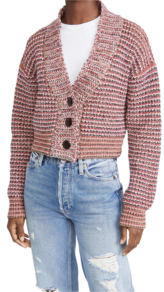 THE GREAT. THE GREAT. The Cropped Montana Cardigan.