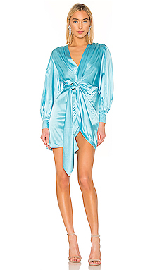 retrofete Elodie Dress in Light Blue from Revolve.com