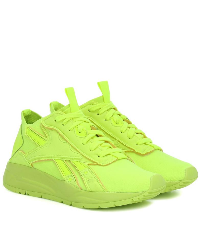 Reebok x Victoria Beckham Bolton Sock sneakers in yellow