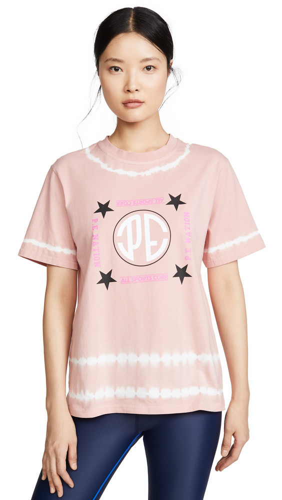 P.E NATION Co Driver Tee in pink