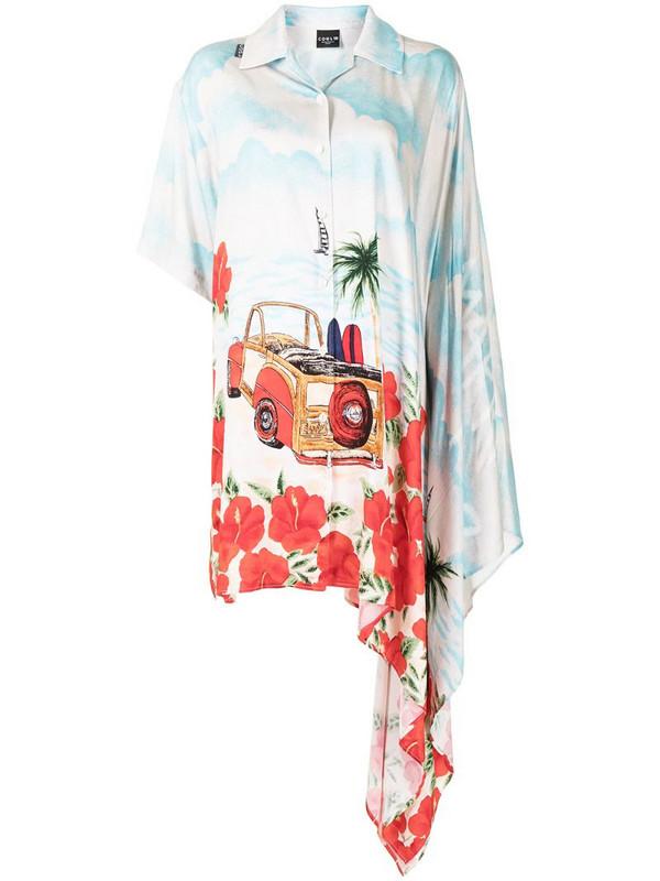 COOL T.M asymmetric shirt dress