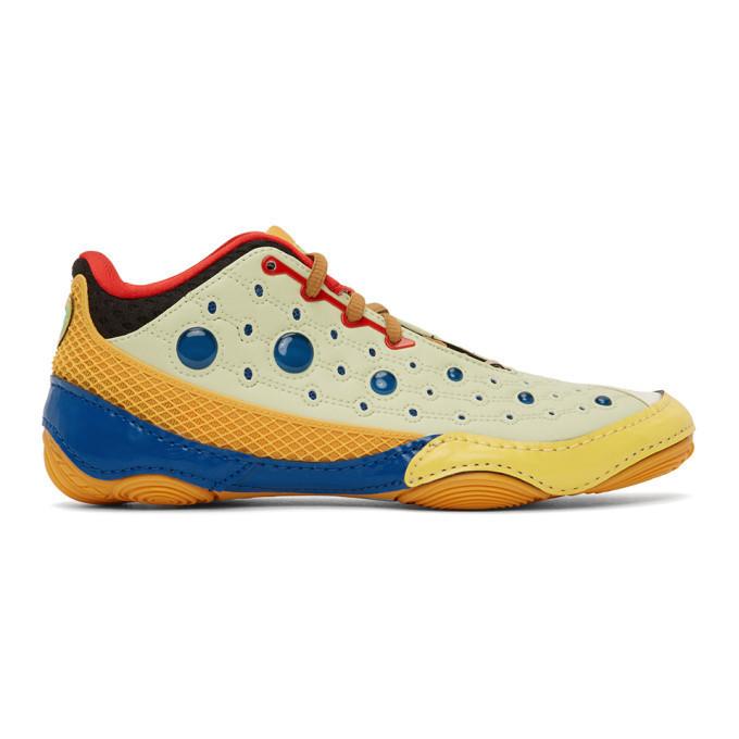 Kiko Kostadinov Multicolor Asics Edition Gesserit 2 Sneakers in cream