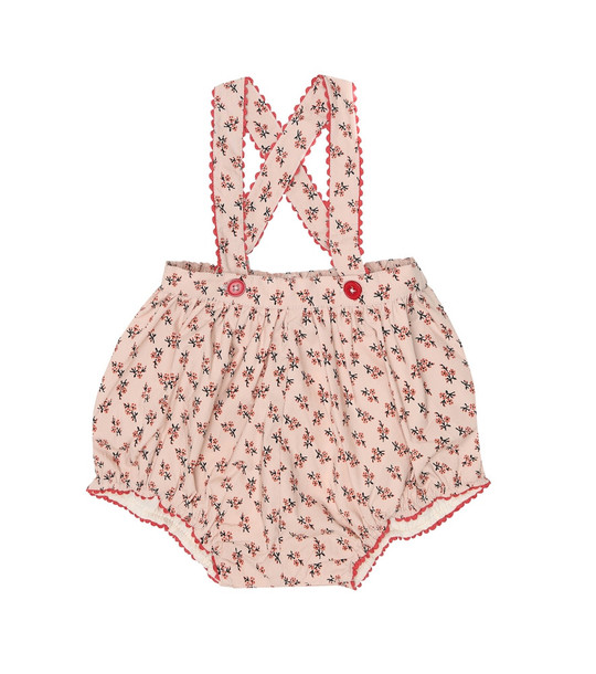Caramel Baby Dunlin stretch-cotton romper in pink