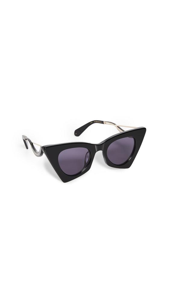 Karen Walker Astral Heart Sunglasses in black