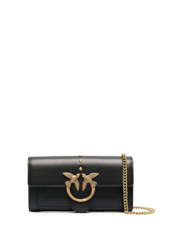 Pinko Love Wallet mini bag in black