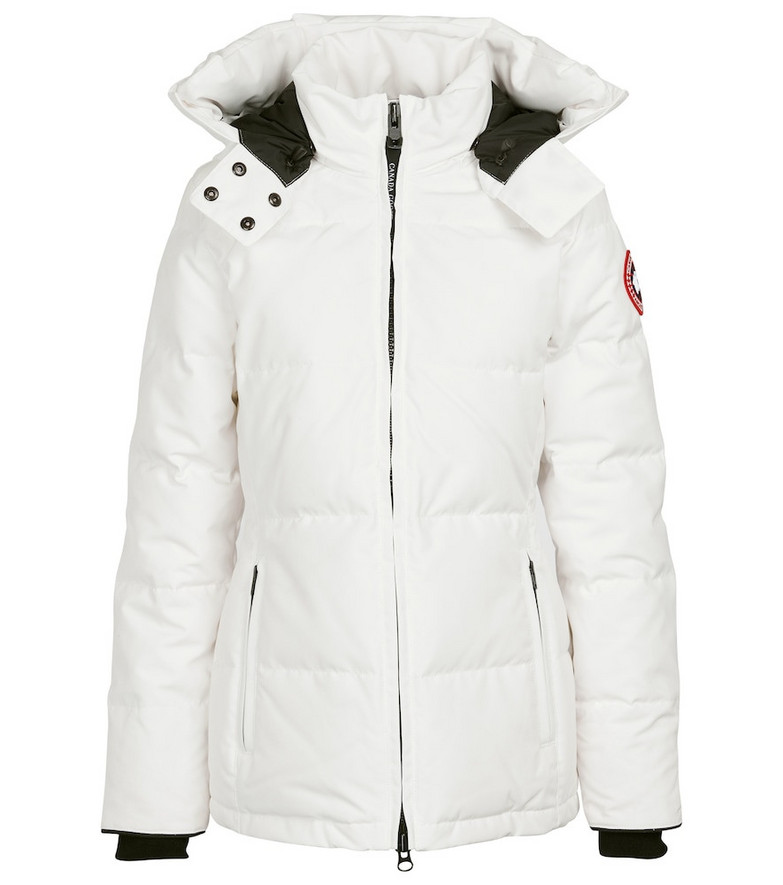 Canada Goose Chelsea down parka in white