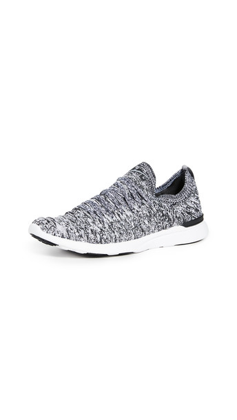 APL: Athletic Propulsion Labs Techloom Wave Sneakers in black / grey / white