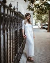shoes,sandal heels,maxi dress,white dress,long sleeve dress,jimmy choo,handbag