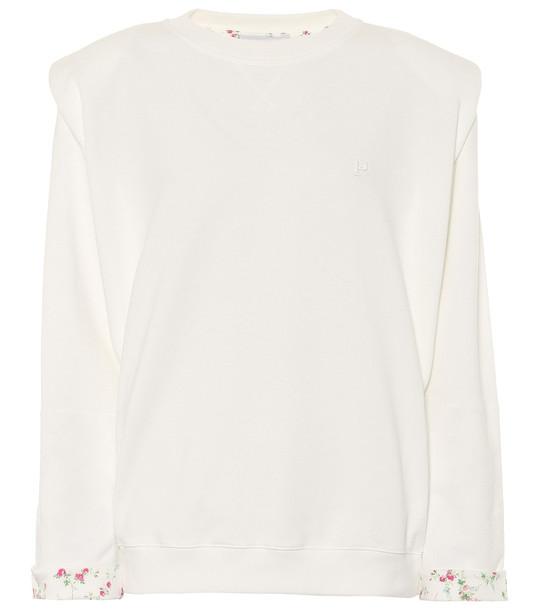 Philosophy Di Lorenzo Serafini Cotton-jersey sweatshirt in white