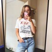 top,t-shirt,vintage,graphic tee,meme
