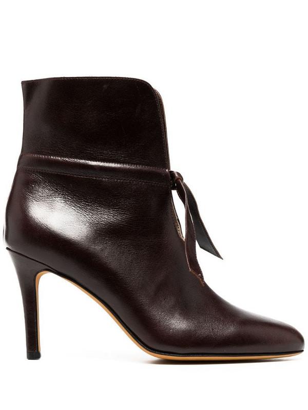 Maryam Nassir Zadeh Kierra boots in brown