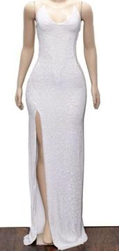 dress,white,glitter,sparkle,glitter dress,prom dress