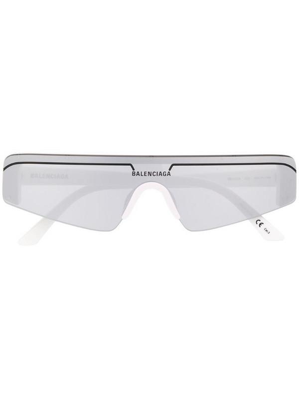 Balenciaga Eyewear square sunglasses in white