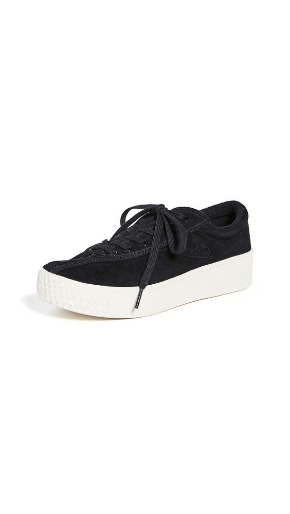 Tretorn Nylite 6 Bold Platform Classic Sneakers in black