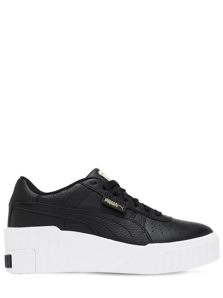 PUMA SELECT Cali Wedge Sneakers in black