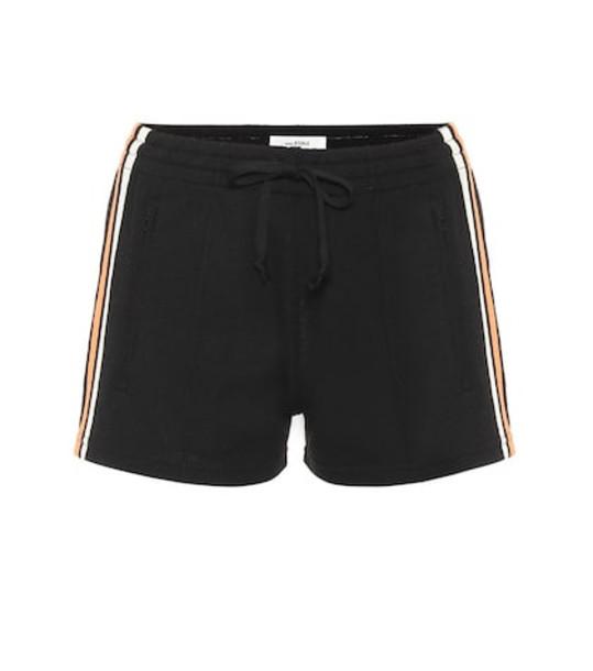 Isabel Marant, Étoile Dorset knit shorts in black