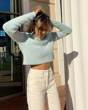 jeans,sweater