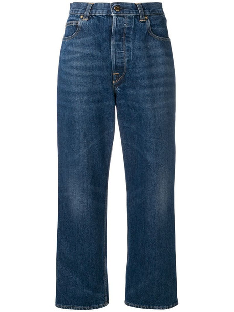 Golden Goose Kim wide-leg jeans in blue