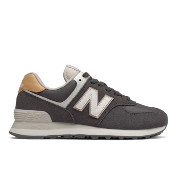 New Balance 574 Women's 574 Shoes - Grey (WL574SYP)