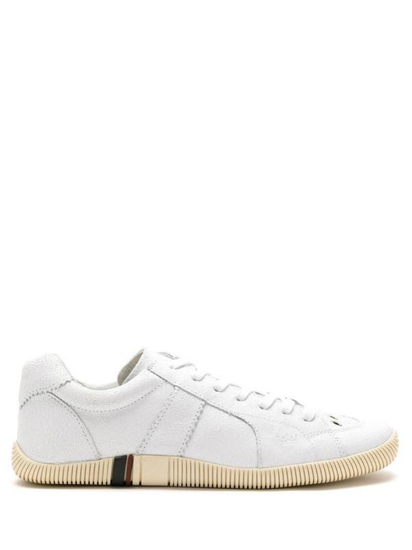 Osklen leather Riva sneakers in neutrals