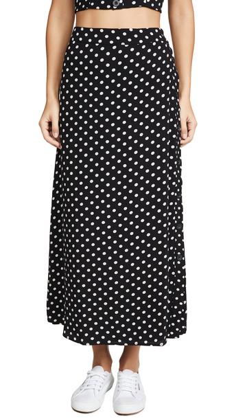leRumi Hadley Midi Skirt in black