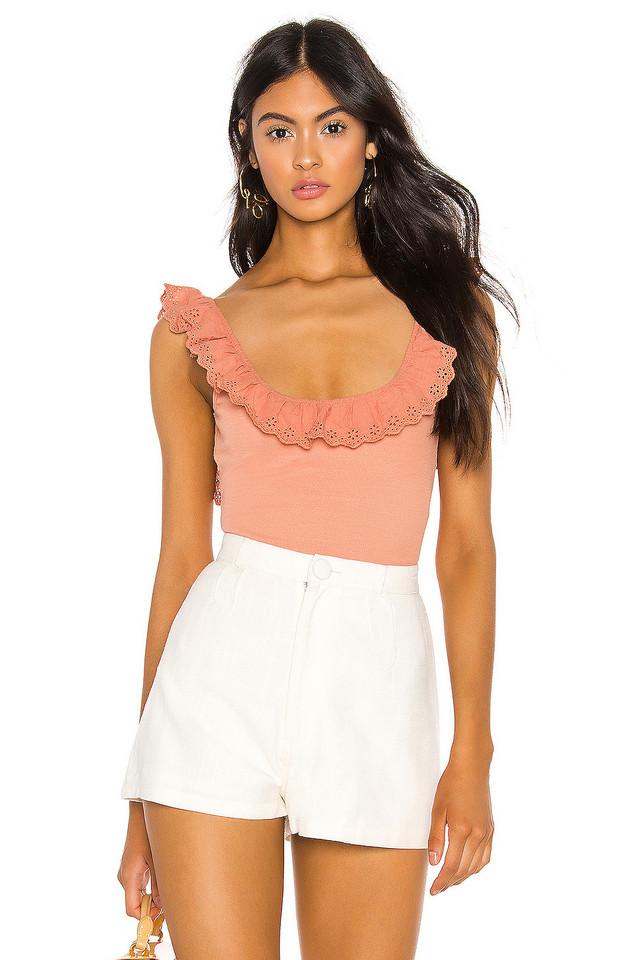 Capulet Dallas Bodysuit in pink