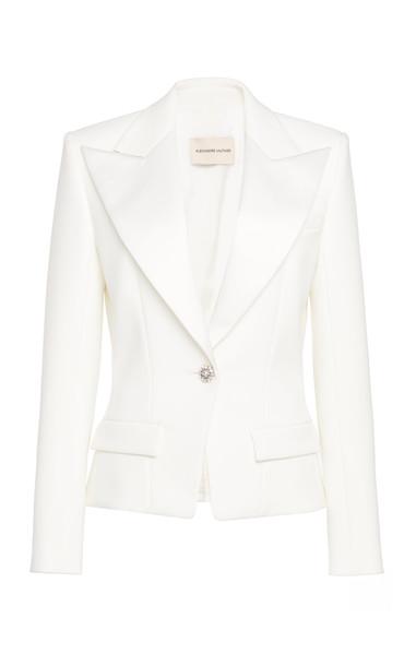Alexandre Vauthier Oversized Blazer in white
