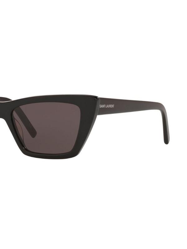Saint Laurent Eyewear cat-eye frame tinted sunglasses in black