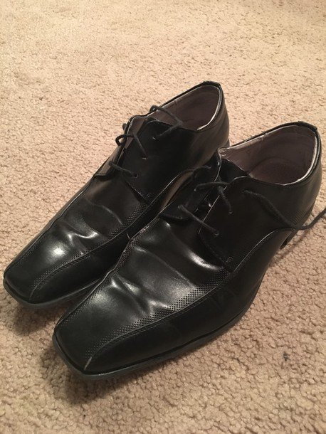 shoes genuine leather lining m- tammer steve madden mens shoes