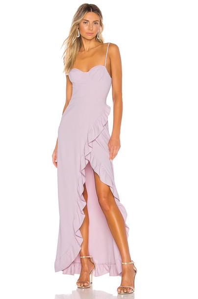 NBD x Naven Serena Dress in purple
