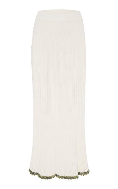 Christopher Esber Deconstructed Convertible Split Skirt in white