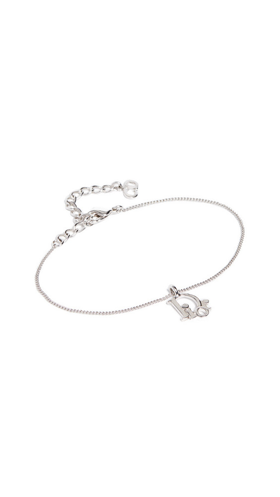 What Goes Around Comes Around Dior Bracelet in silver
