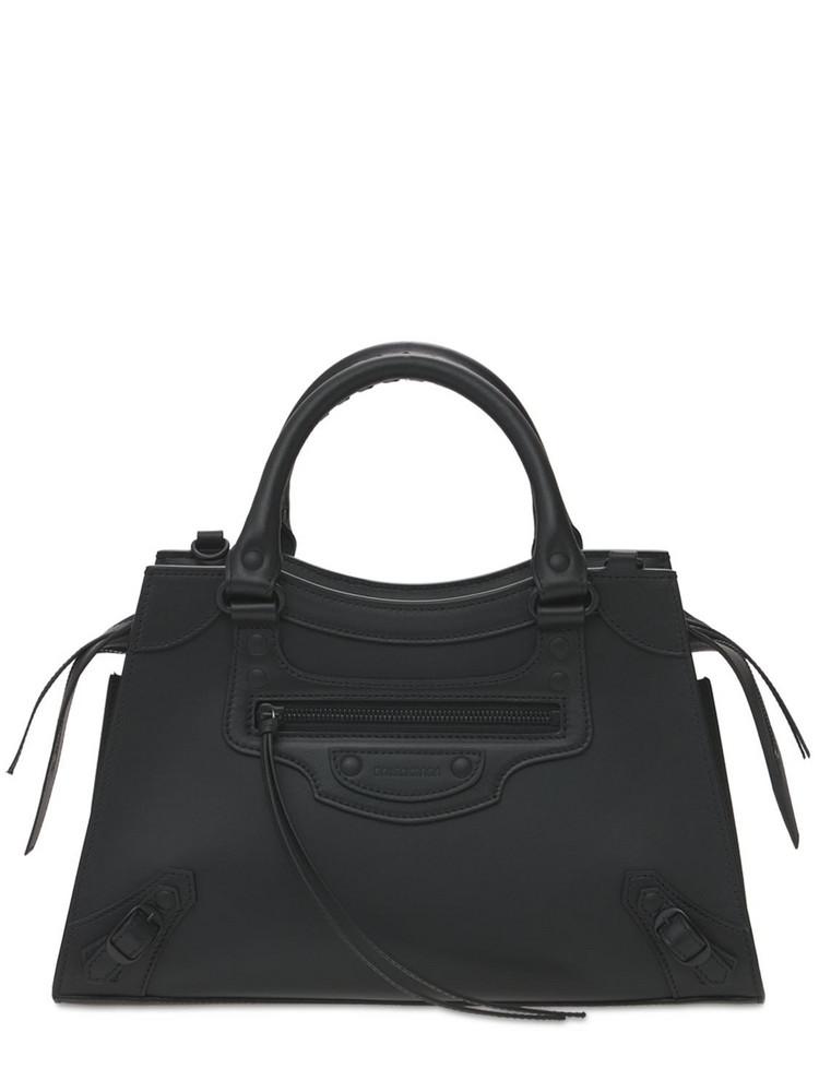 BALENCIAGA S Neo Classic City Leather Bag in black