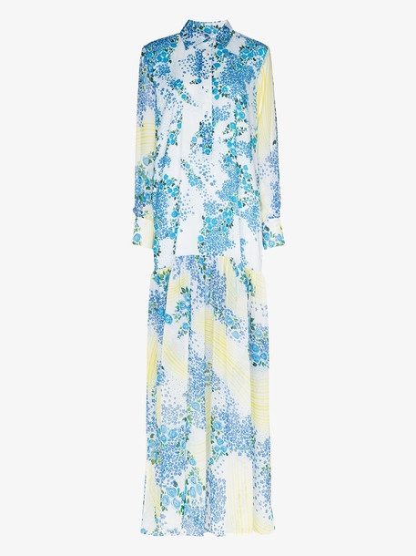 All Things Mochi Alona floral print maxi dress